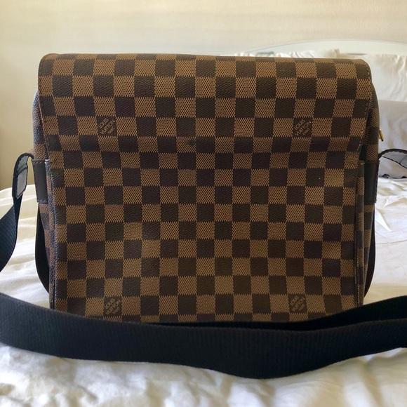 Louis Vuitton Handbags - Louis Vuitton Damier Ebene Naviglio Messenger Bag